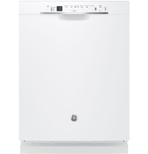 GE® Stainless Steel Interior Dishwasher with Front Controls– Model #: GDF650SGJWW