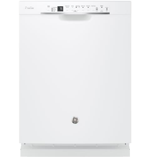 GE Profile™ Stainless Steel Interior Dishwasher with Front Controls– Model #: PDF820SGJWW