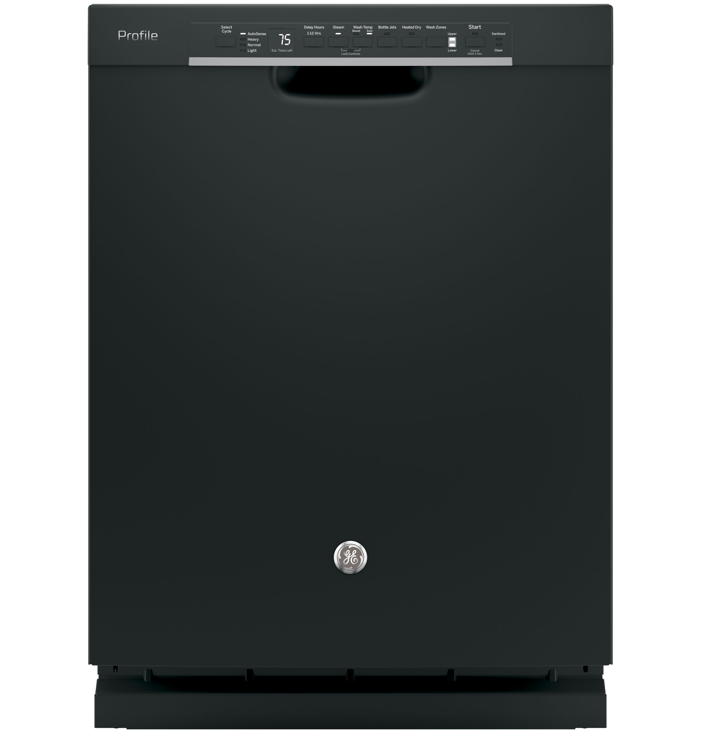 Ge Profile Stainless Steel Interior Dishwasher With Front