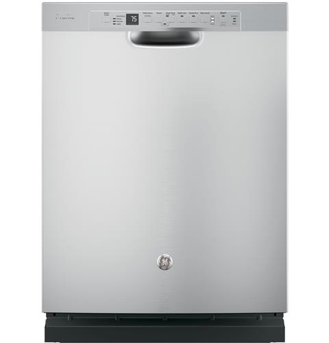 GE Profile™ Stainless Steel Interior Dishwasher with Front Controls– Model #: PDF820SSJSS
