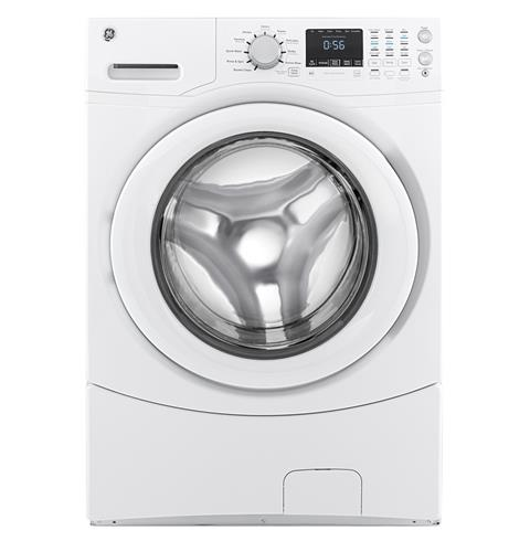 GE® ENERGY STAR® 4.3 DOE Cu. Ft. Capacity Frontload Washer– Model #: GFWN1600JWW