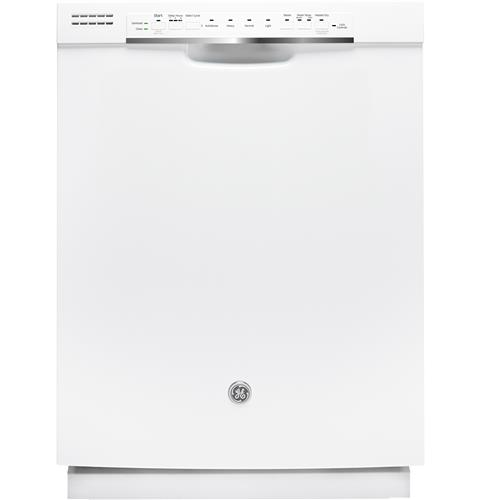 GE® Stainless Steel Interior Dishwasher with Front Controls– Model #: GDF570SGJWW