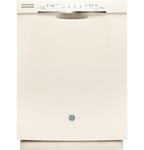 GE® Stainless Steel Interior Dishwasher with Front Controls– Model #: GDF570SGJCC