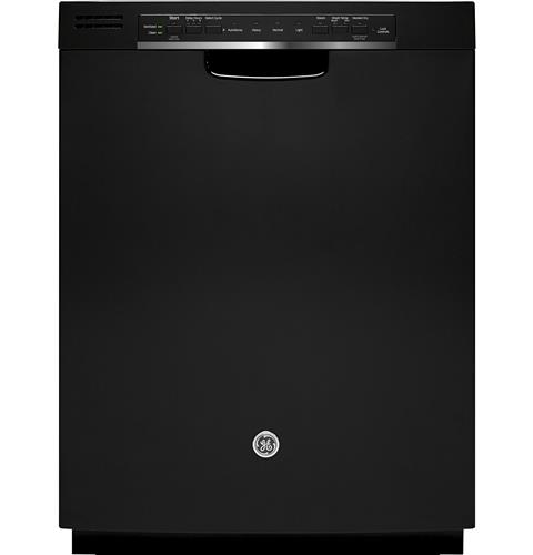 GE® Stainless Steel Interior Dishwasher with Front Controls– Model #: GDF570SGJBB