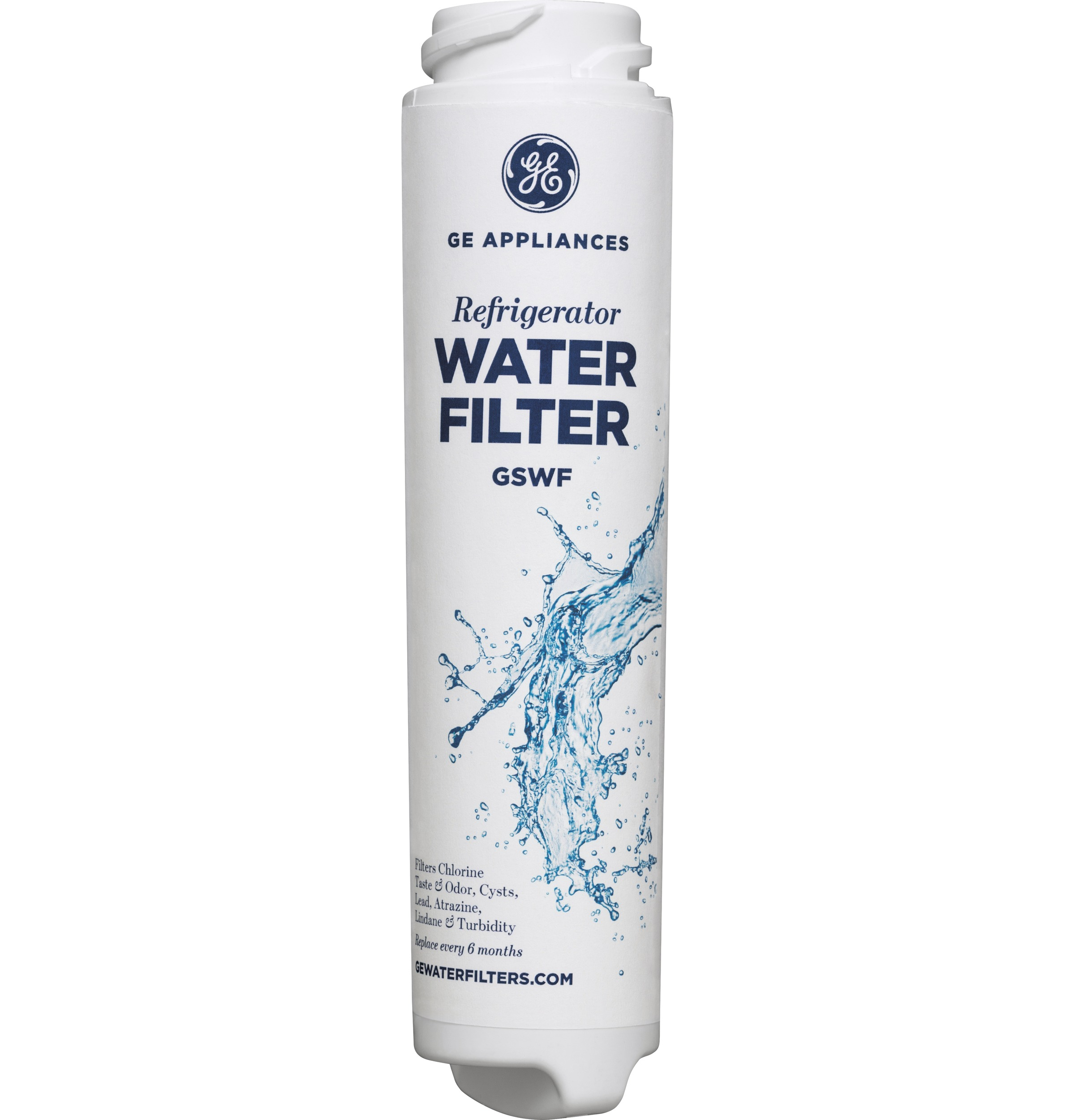 How To Replace Ge Water Filter Gswf Gear Gswf Refrigerator Water Filter Ge Parts