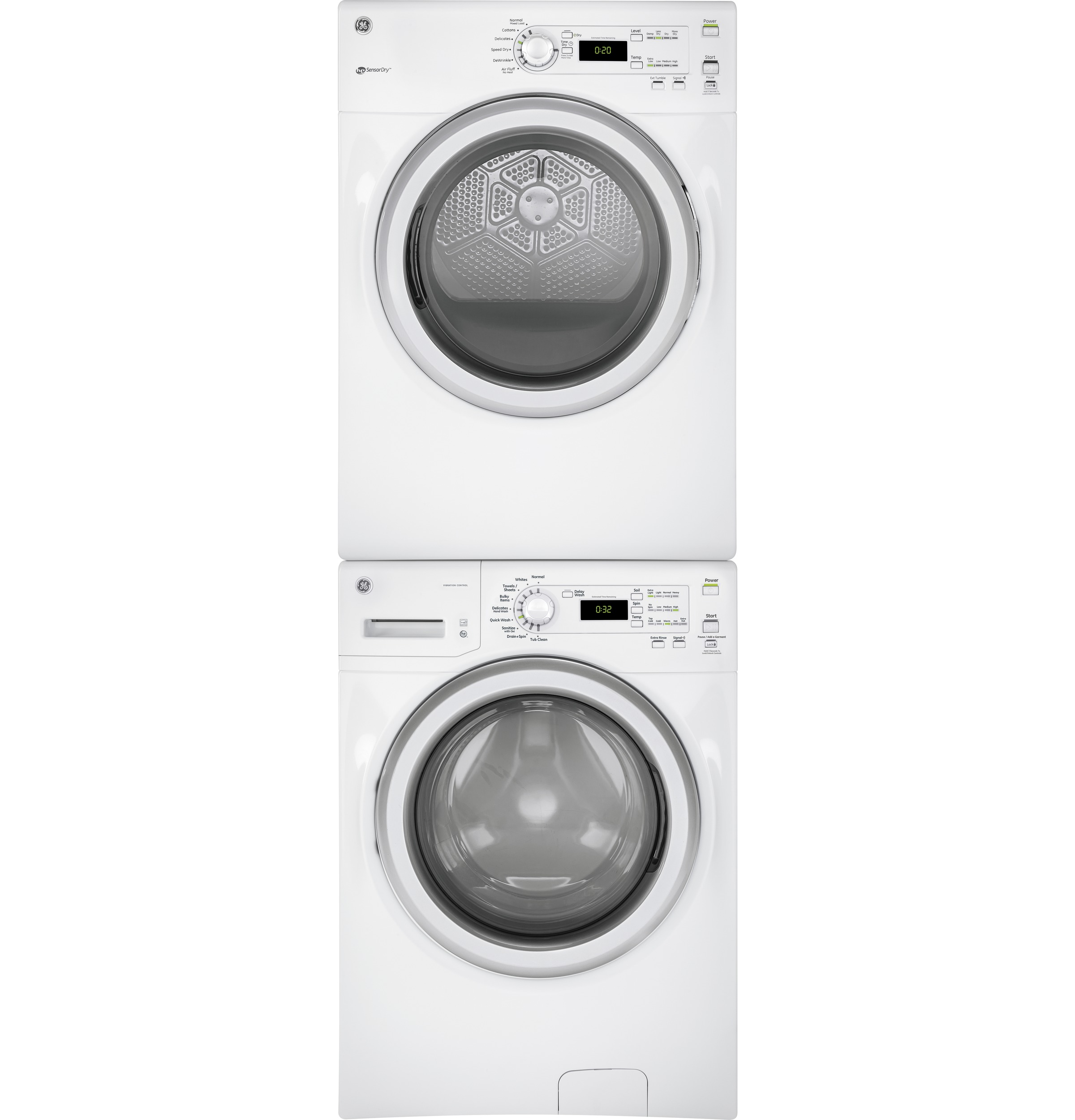 ge front load washer manual