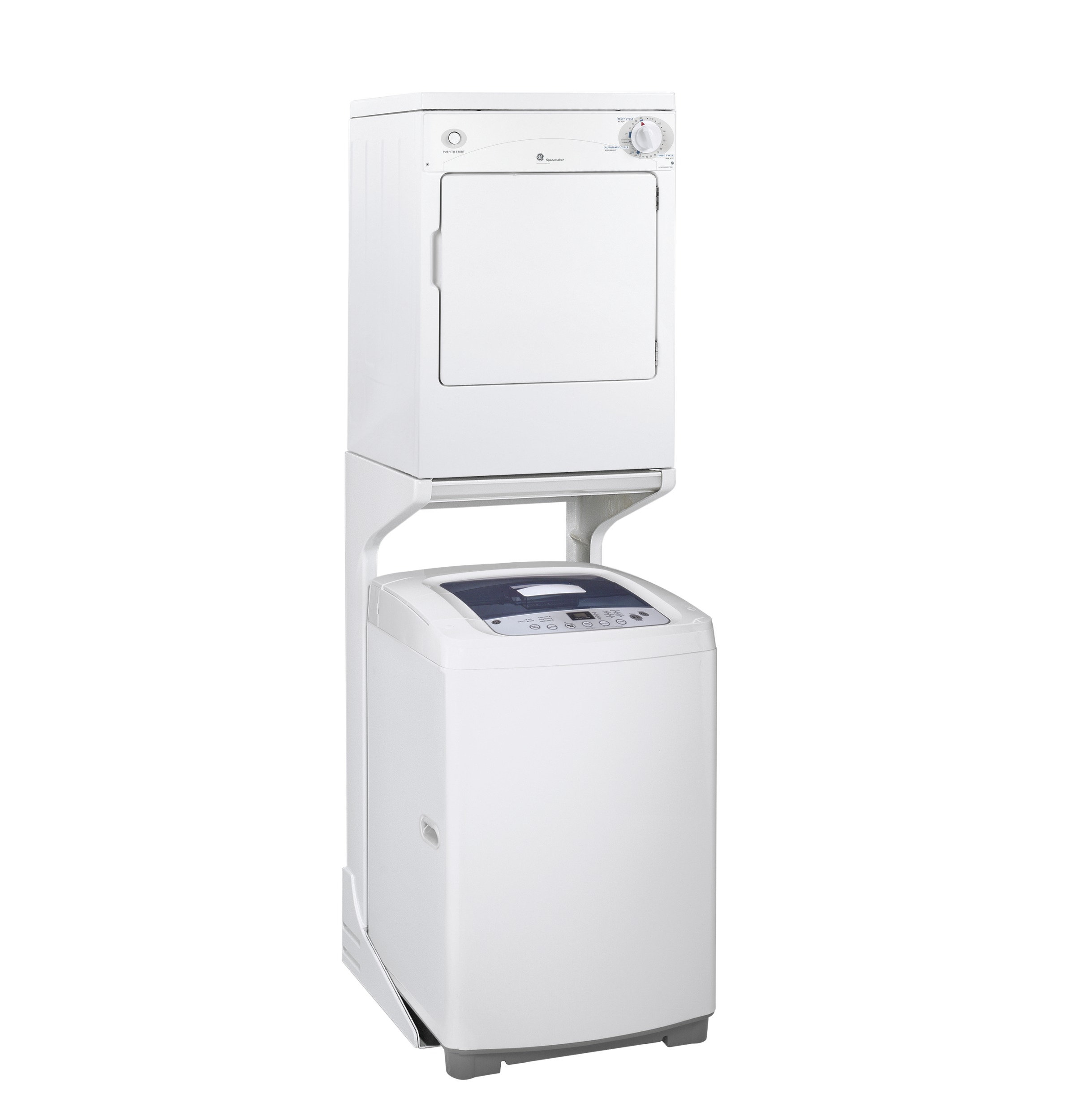 GE® Space-Saving 2.6 DOE cu. ft. Capacity Portable Washer with ...