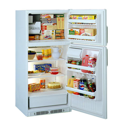 Hotpoint® 18.2 Cu. Ft. Top-Mount No-Frost Refrigerator with Icemaker