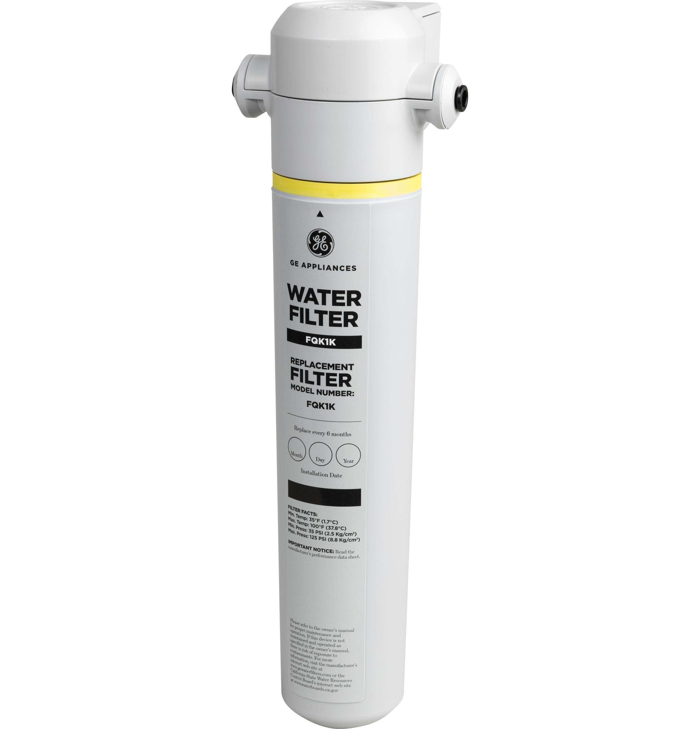 Gxrlqk In Line Water Filtration System For Refrigerators Or