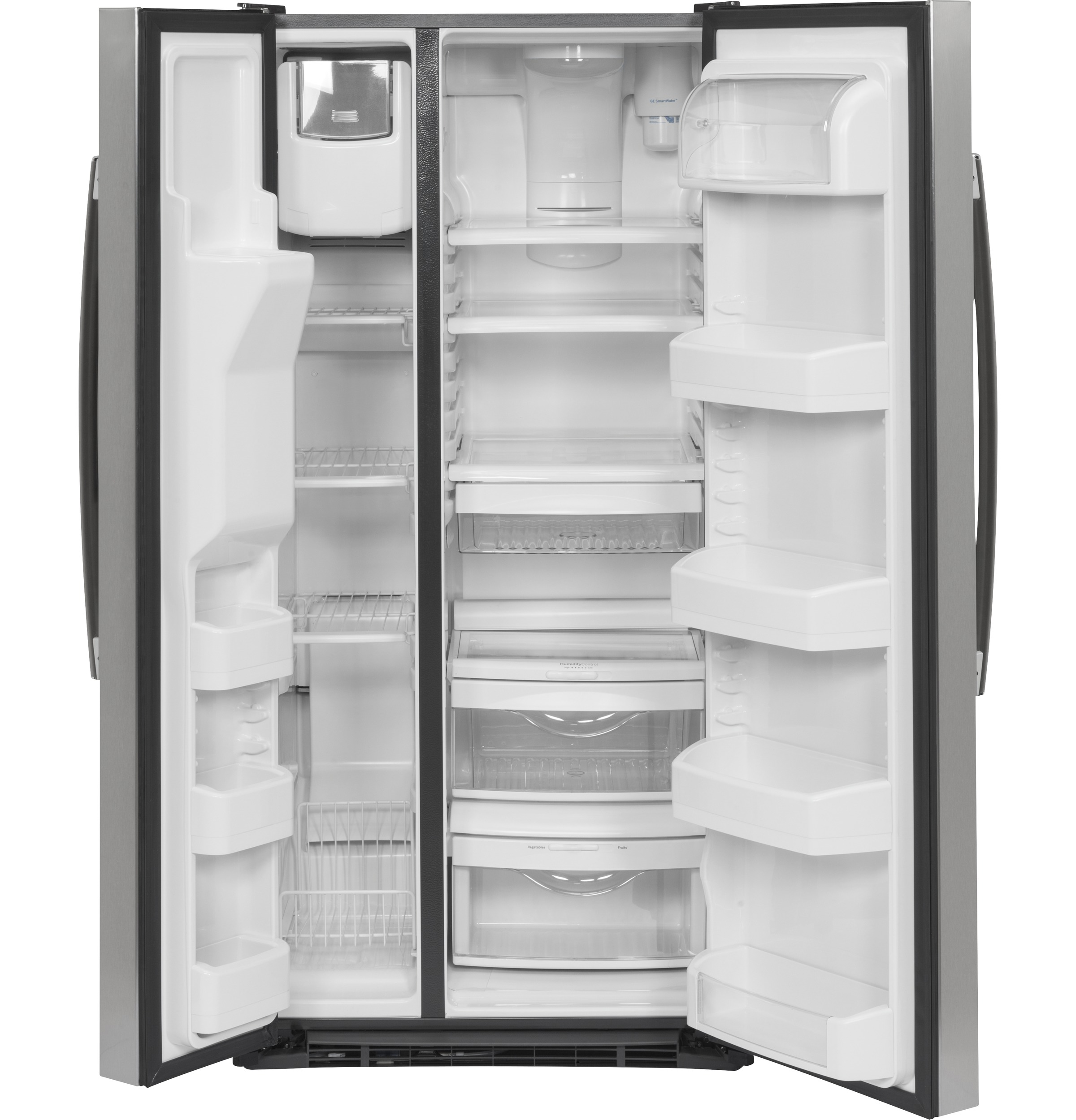 Ge 232 cu ft side by side refrigerator gss23gskss ge appliances product image product image product image product image publicscrutiny Gallery