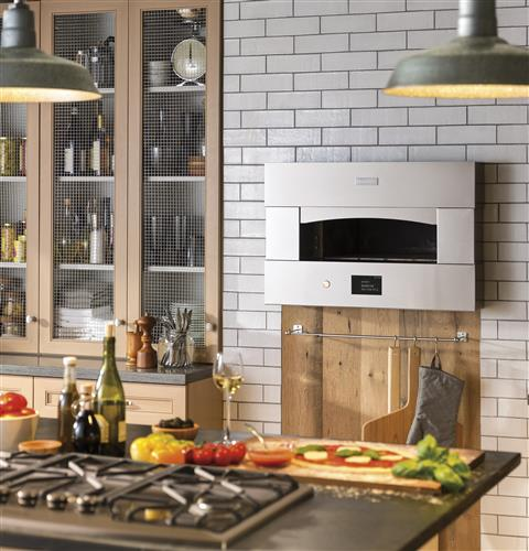 "Hearth Oven: ZEP30SKSS - Monogram 30"" Hearth Oven"