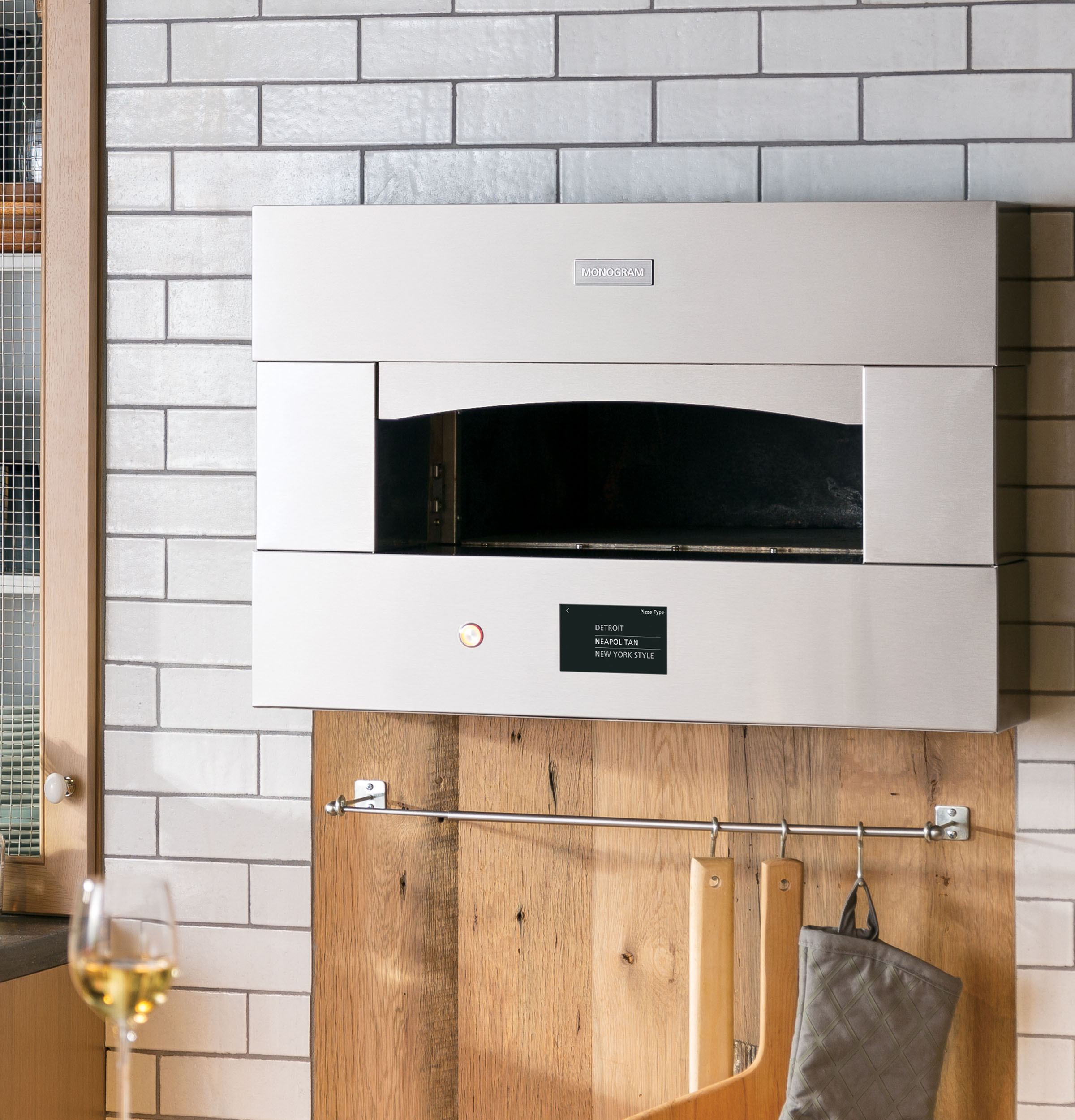 "Hearth Oven: Monogram 30"" Smart Hearth Oven"