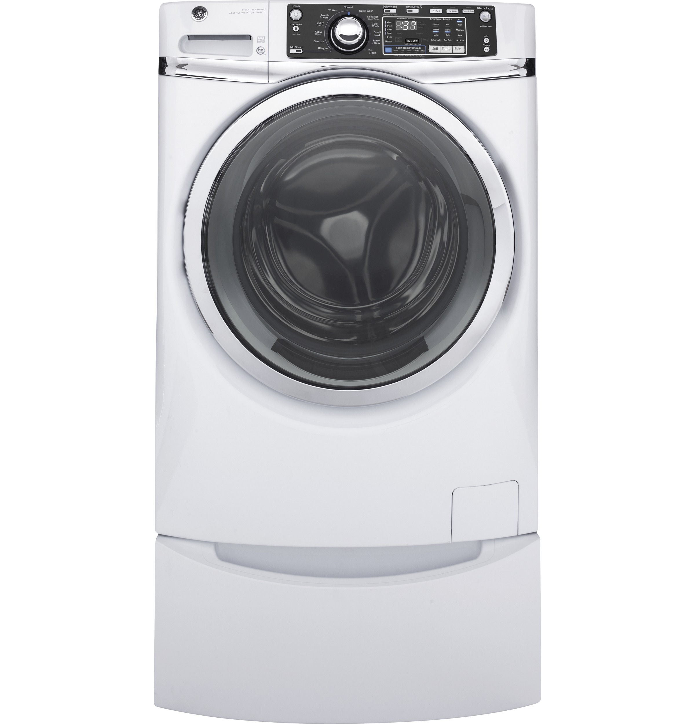 Ge 49 Doe Cu Ft Capacity Front Load Energy Star Washer With Franke Independence Day  Buy 2 Appliances Free Cooker Hood Product Image