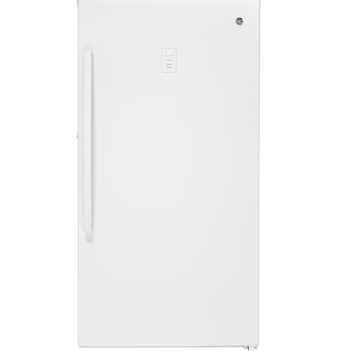 GE® 17.3 Cu. Ft. Frost-Free Upright Freezer– Model #: FUF17SMRWW