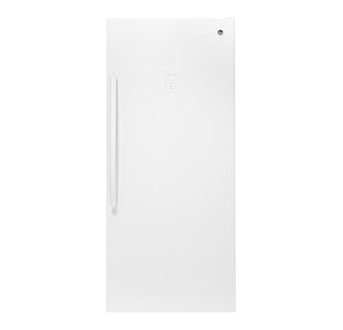 GE® 21.3 Cu. Ft. Frost-Free Upright Freezer– Model #: FUF21SMRWW