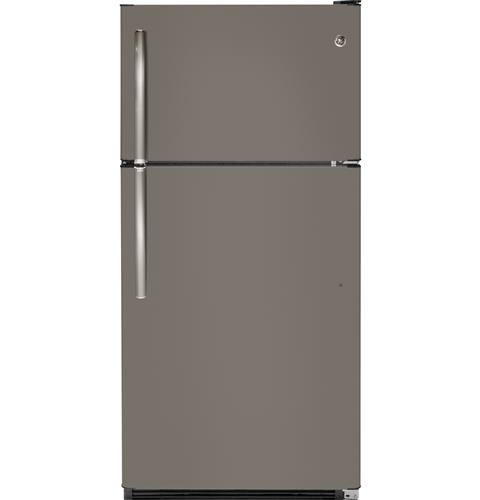GE® 20.8 Cu. Ft. Top-Freezer Refrigerator– Model #: GTS21FMKES