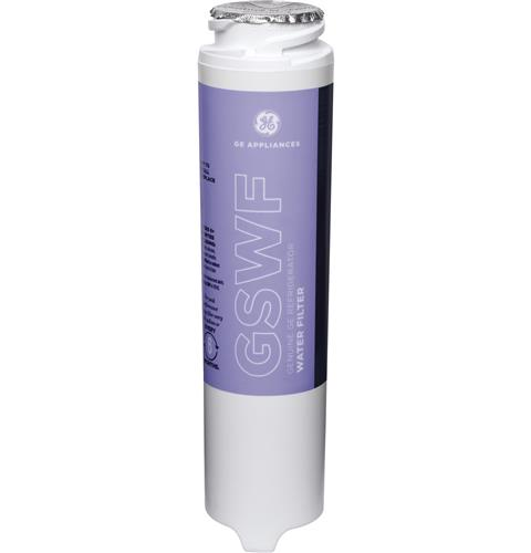 GE® GSWF REFRIGERATOR WATER FILTER — Model #: GSWF