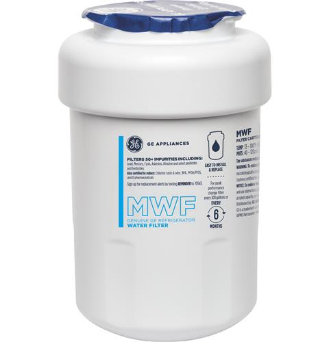 GE® MWF REFRIGERATOR WATER FILTER — Model #: MWFP