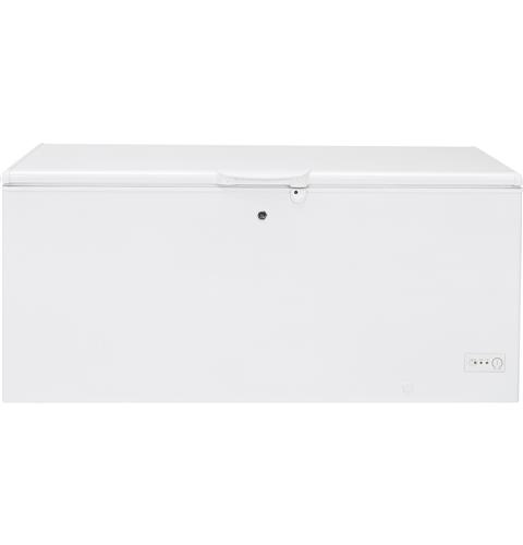 GE® 21.7 Cu. Ft. Manual Defrost Chest Freezer– Model #: FCM22DLWW