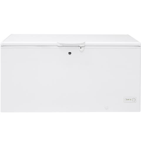 GE® 15.7 Cu. Ft. Manual Defrost Chest Freezer– Model #: FCM16DLWW