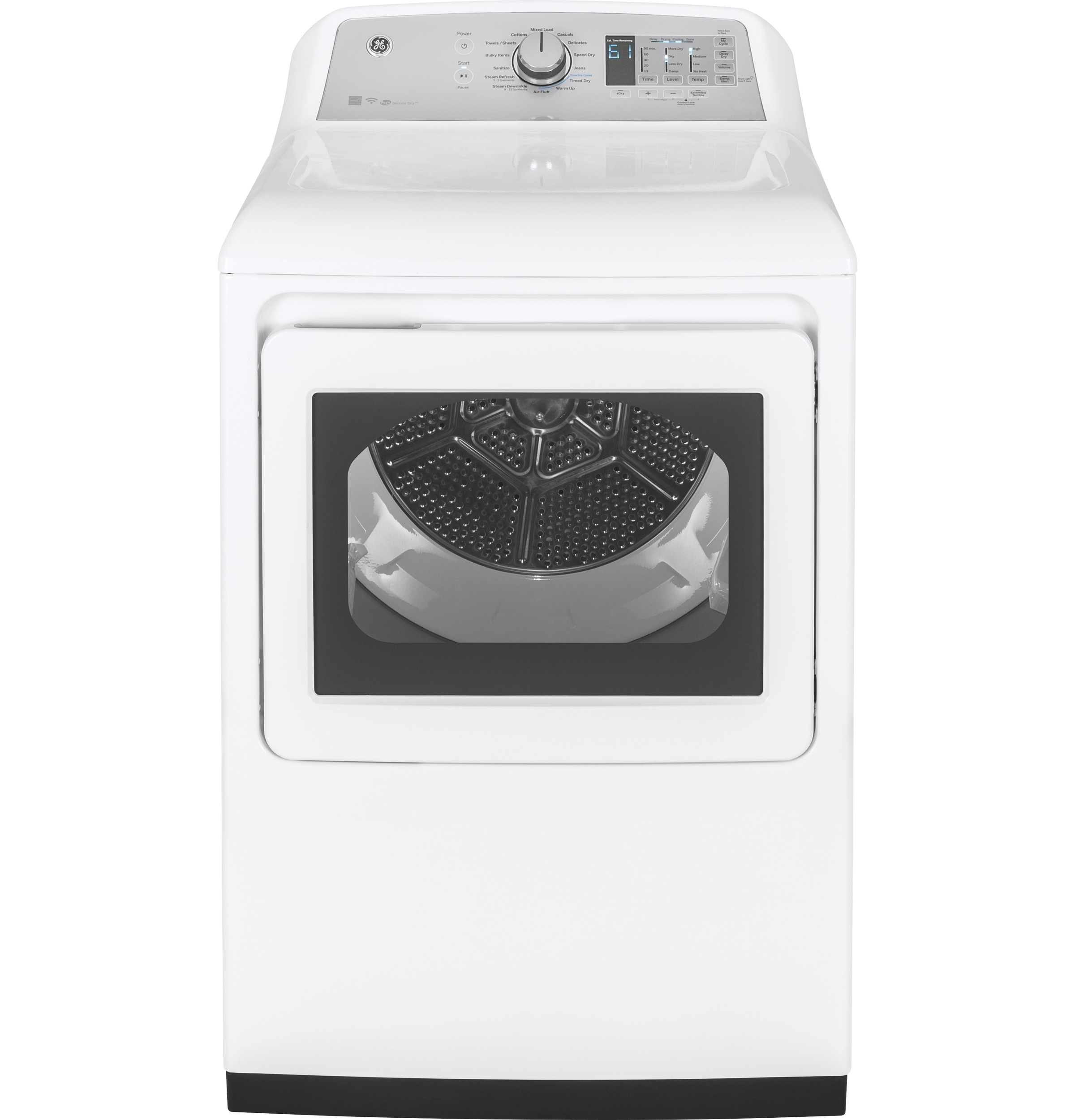 Ge 74 Cu Ft Capacity Aluminized Alloy Drum Electric Dryer With Wiring Diagram Online Product Image
