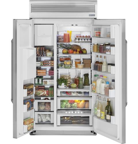 "Thumbnail of Monogram 48"" Built-In Professional Side-by-Side Refrigerator with Dispenser 1"