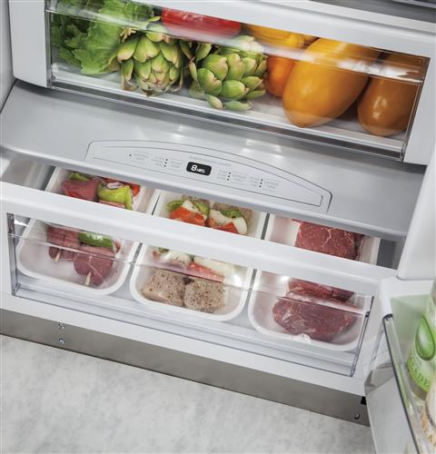 "Thumbnail of Monogram 48"" Built-In Side-by-Side Refrigerator 5"