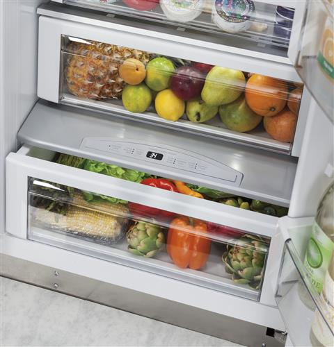 "Thumbnail of Monogram 48"" Built-In Side-by-Side Refrigerator 3"
