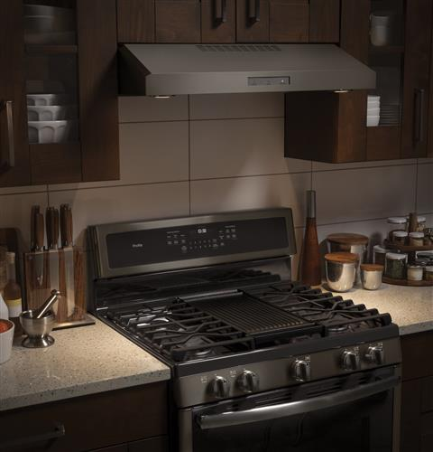 Ge Profile Series 30 Free Standing Gas Convection Range