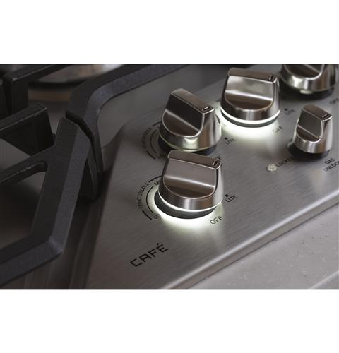 White LED backlit heavy-duty knobs