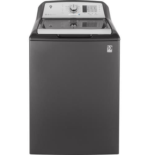 GE® 4.6 DOE  cu. ft. Capacity Washer with Stainless Steel Basket– Model #: GTW680BPLDG