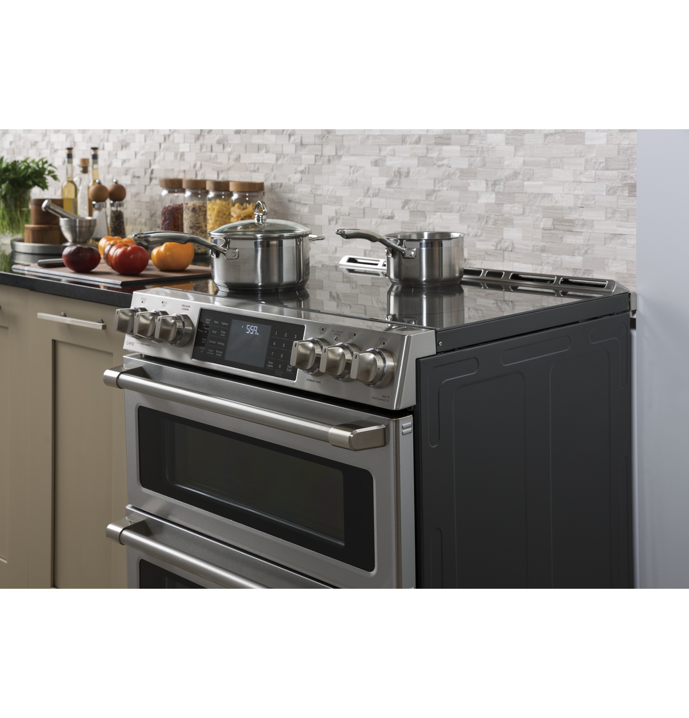 Ge Cafe Series 30 Slide In Front Control Induction And Convection Warm Zone Wiring Diagrams 1 Of 21