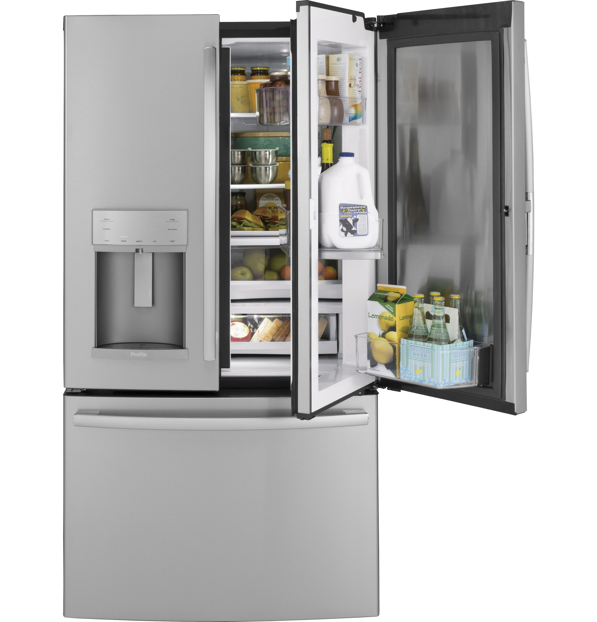 Ge Profile Series 27 8 Cu Ft French Door Refrigerator
