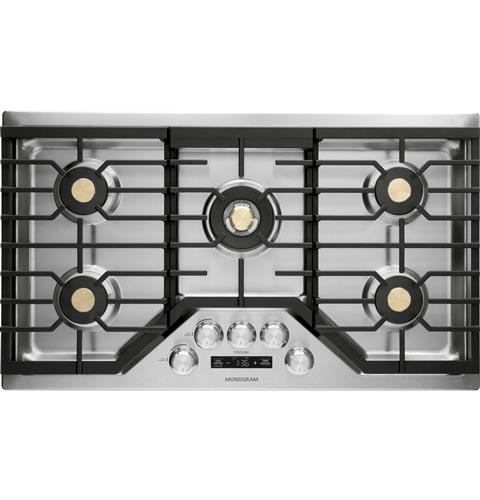 "Thumbnail of Monogram 36"" Deep-Recessed Gas Cooktop (Natural Gas) 0"