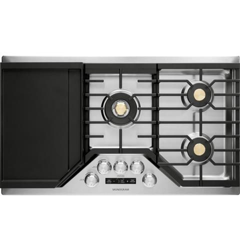 "Thumbnail of Monogram 36"" Deep-Recessed Gas Cooktop (Natural Gas) 1"