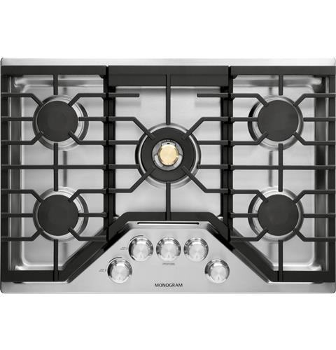"Thumbnail of Monogram 30"" Deep-Recessed Gas Cooktop (Natural Gas)"