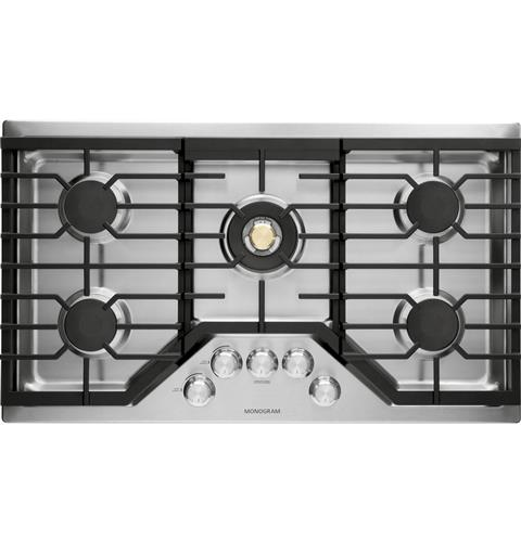 "Thumbnail of Monogram 36"" Deep-Recessed Gas Cooktop (Natural Gas)"