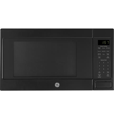 GE® 1.6 Cu. Ft. Countertop Microwave Oven– Model #: JES1657DMBB