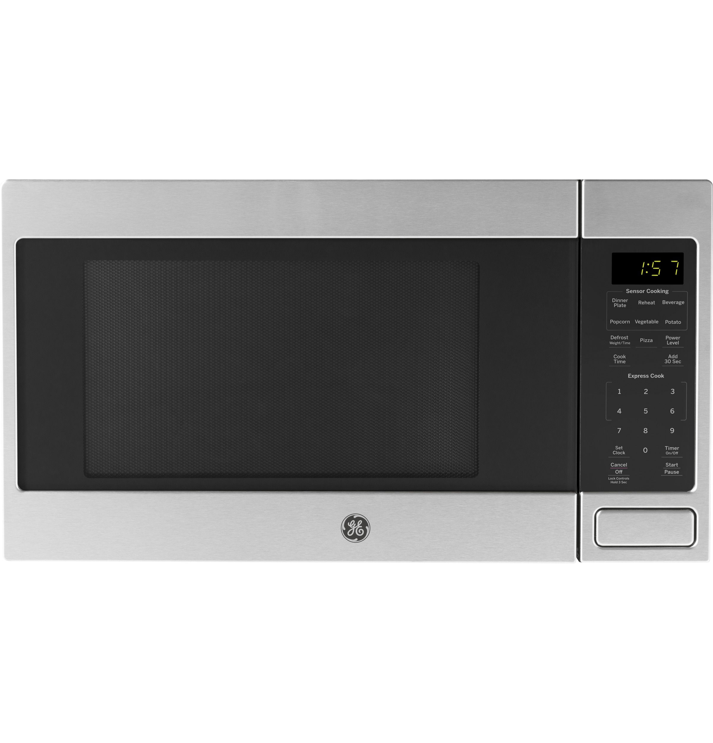 Ge 16 Cu Ft Countertop Microwave Oven Jes1657smss Ge Appliances