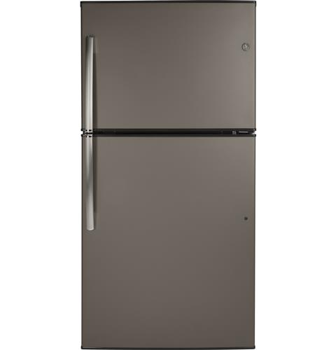 GE® ENERGY STAR® 21.2 Cu. Ft. Top-Freezer Refrigerator– Model #: GIE21GMLES
