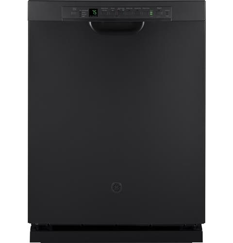 GE® Stainless Steel Interior Dishwasher with Front Controls– Model #: GDF650SFJDS