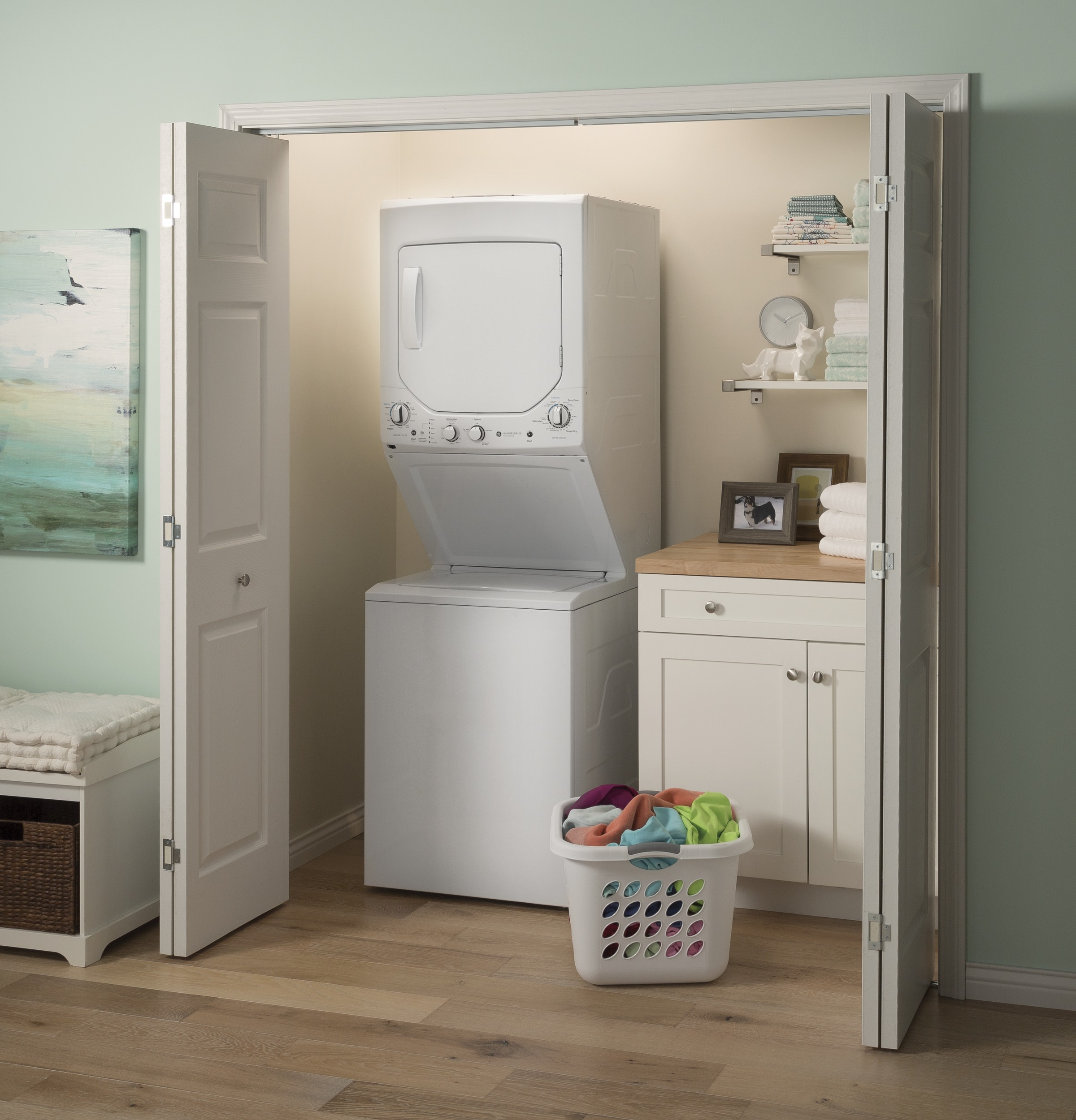 Ge Unitized Spacemaker 23 Doe Cu Ft Capacity Washer With Choosing The Right Circuit Breakers At Home Depot 1 Of 16