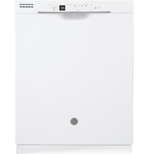 GE® Dishwasher with Front Controls– Model #: GDF530PGMWW