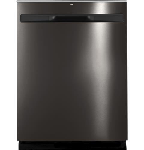 GE® Hybrid Stainless Steel Interior Dishwasher with Hidden Controls– Model #: GDP615HBMTS