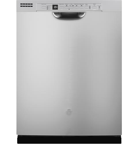 GE® Dishwasher with Front Controls– Model #: GDF630PSMSS