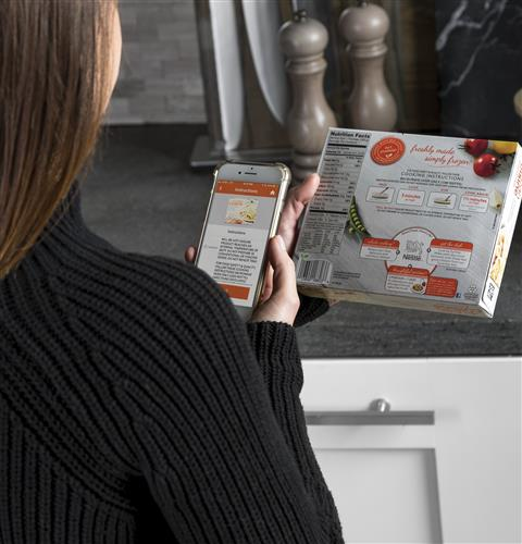 Scan-to-cook technology
