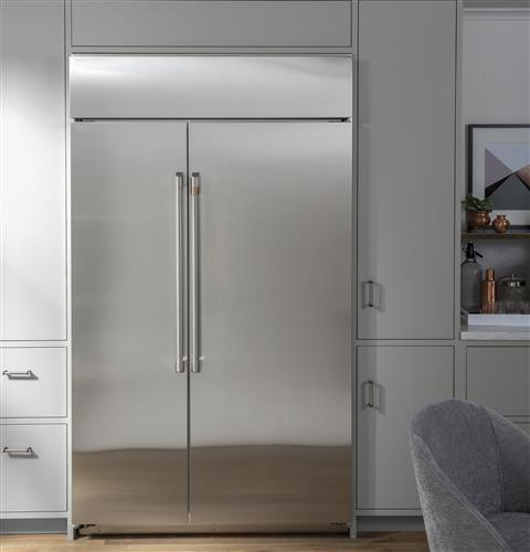 Caf 233 48 Quot Smart Built In Side By Side Refrigerator