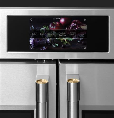 "Thumbnail of Monogram 30"" Smart French-Door Electric Convection Double Wall Oven Statement Collection 5"