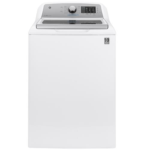 GE® 4.6  cu. ft. Capacity Washer with FlexDispense– Model #: GTW725BSNWS