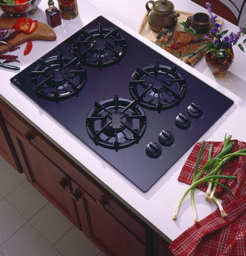 GE ProfileTM 30 Built In Gas Cooktop With Sealed Burners And Right Side Controls